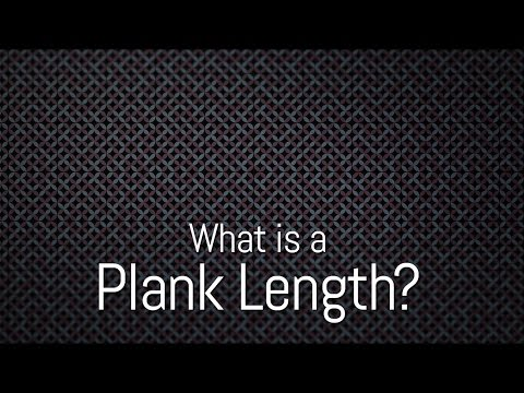 What is a Plank Length?