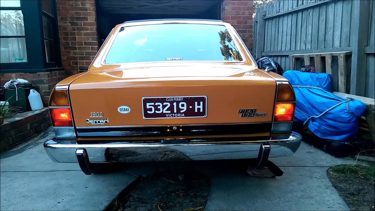 Fiat 124 Jerrari Sport Coupe inside and out