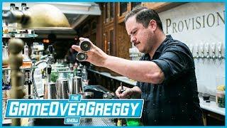 Bartending w/Erick Castro- The GameOverGreggy Show Ep. 206 (Pt. 1)