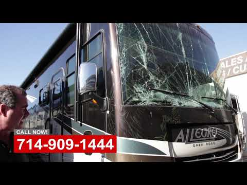 RV Front End Damage Repair Orange County CA