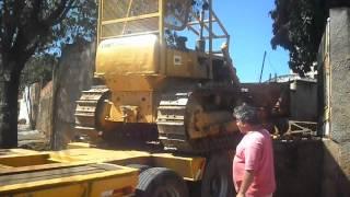Dakar Guinchos - trator de esteira
