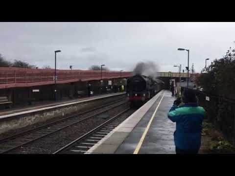 Oliver Cromwell at Honeybourne Station 10/2/18