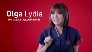 Olga Lydia Dukung Jokowi & PSI