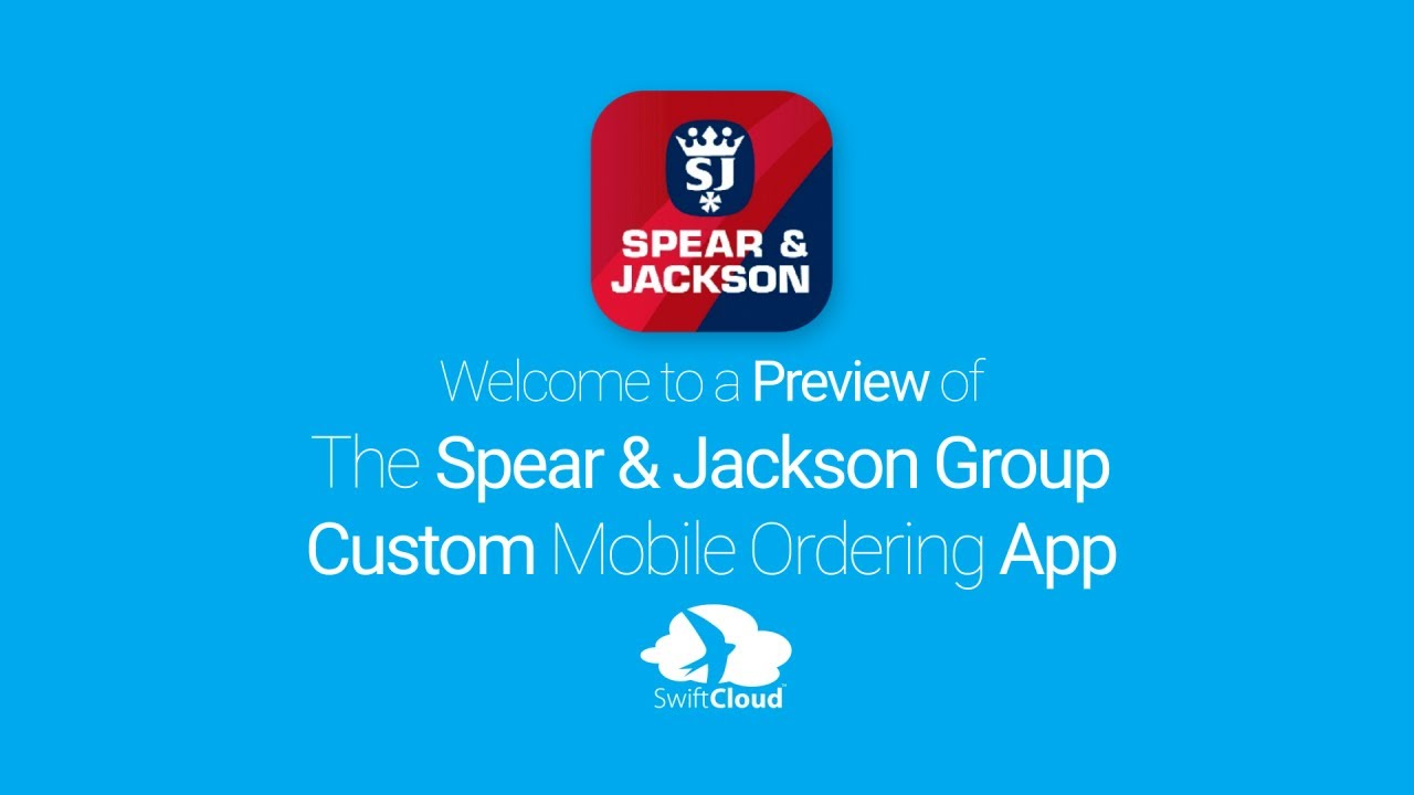 Spear & Jackson Group - Mobile App Preview - SPE118W