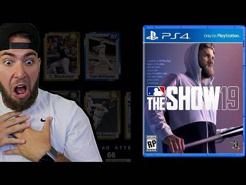 *BREAKING NEWS* BRYCE HARPER MLB THE SHOW 19 COVER ATHLETE!