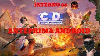"""Creative Destruction!!!! La copia di Fortnite??? """"ANTEPRIMA ANDROID"""" by INFERNO 86"""