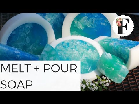 Easy Rimmed Melt And Pour Soap Tutorial