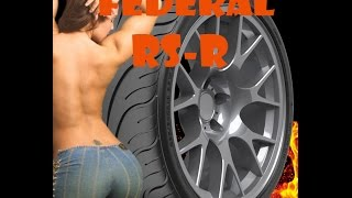 Federal 595 RS-R первое впечатление от шины