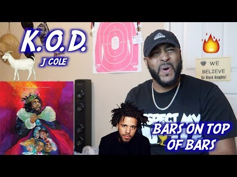J. Cole - K.O.D.   REACTION   BEST LYRICS ON THE ALBUM SO FAR!!