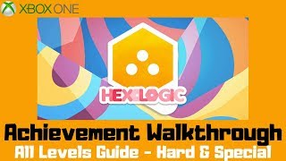 Hexologic (Xbox One) Achievement Walkthrough - All Levels Guide - Hard & Special screenshot 2