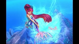 Winx Club: Sirenix Mermaid - Bloom -Speedpaint/Speededit