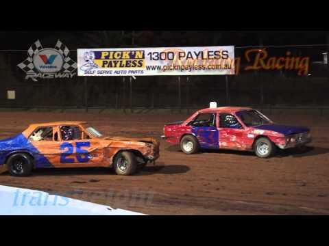 Fender Benders Round 2 - Valvoline Raceway - Rockdog Racing Videos