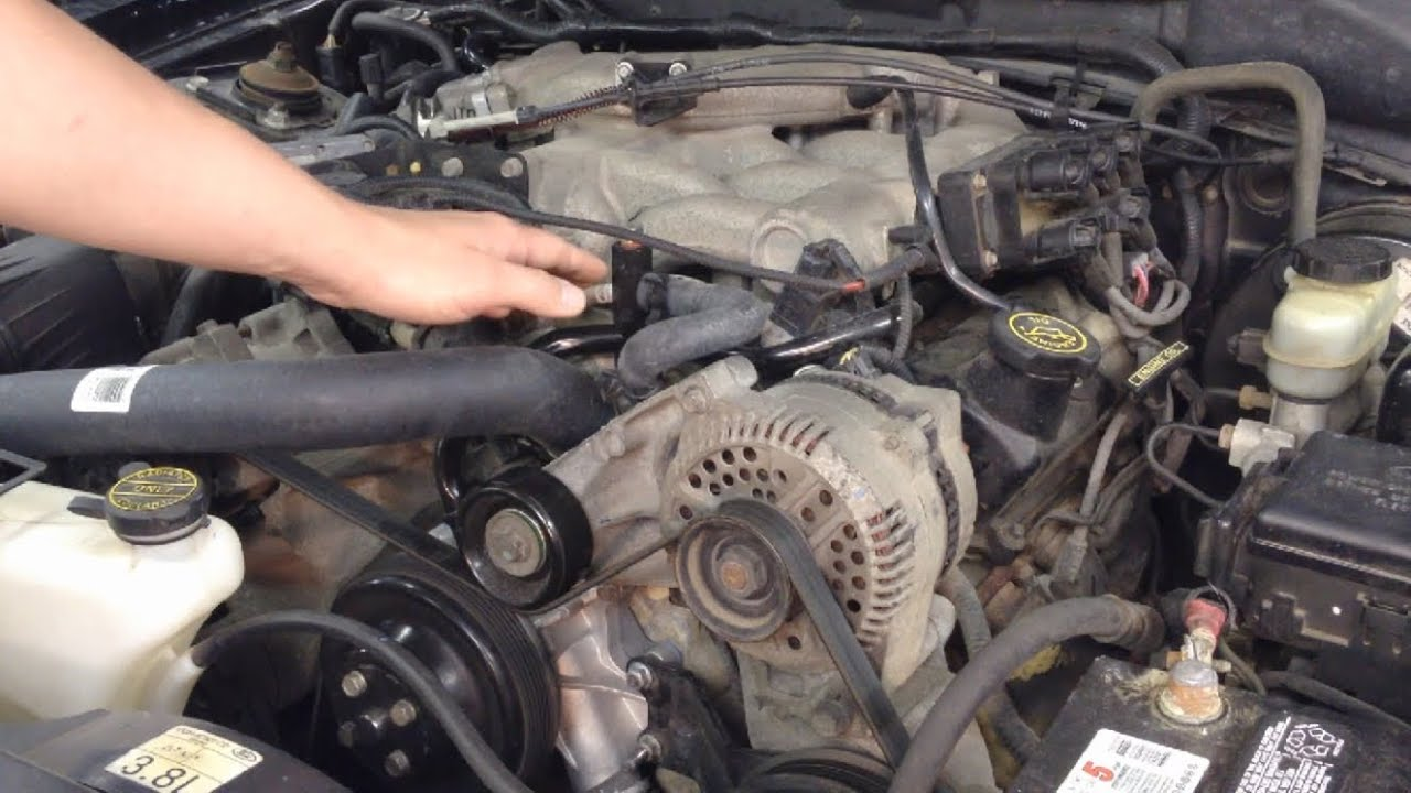 ford quick tips 18 ford 3 0l 3 8l 4 0l 12v engines chirping noise rh youtube com
