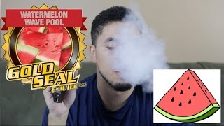 Gold Seal Watermelon Wave Pool Ejuice Review