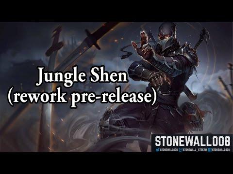 League of Legends - Jungle Shen (rework pre-release)