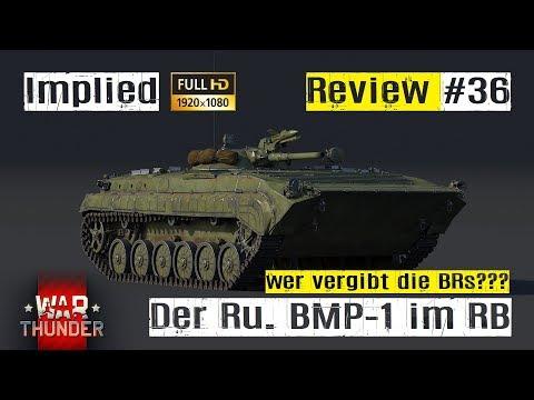 War Thunder Tank Review #36 der russische BMP-1 im RB GAMEPLAY HD