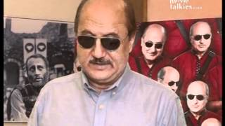 Anupam Kher talks about his character in