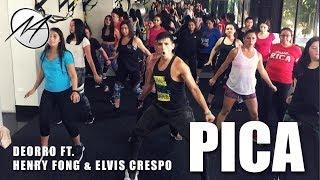 PICA - Deorro ft. Elvis Crespo &amp Henry Fong Mauri Alejandro Zumba Dance Fitness