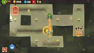 King of Thieves - Base 96 - Spinner Corner Juggle into Long Gravity Jump - Designed by Jodas