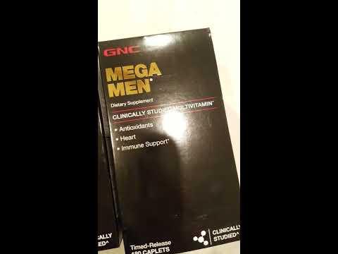 Why Choose GNC Mega Men Multivitamins? BEST Multivitamin For Men Review