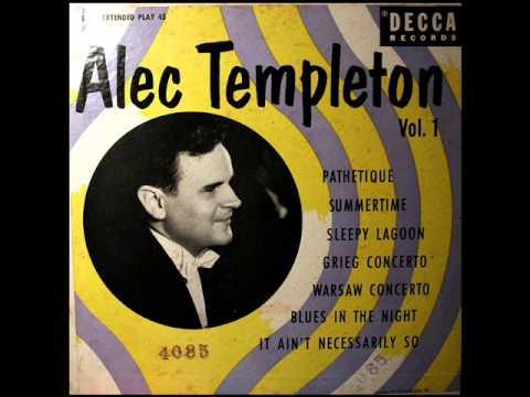 Gershwin / Alec Templeton, 1949: Summertime - Decca 45 RPM Disc