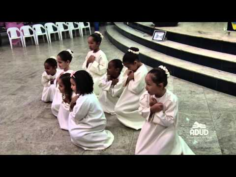 Grupo de coreografia da ADUD departamento infantil