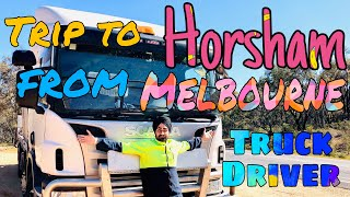 Truck Driver Trip To Horsham From Melbourne Arsh Salh Team Day 2