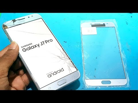 Samsung j7 pro touch glass replacement