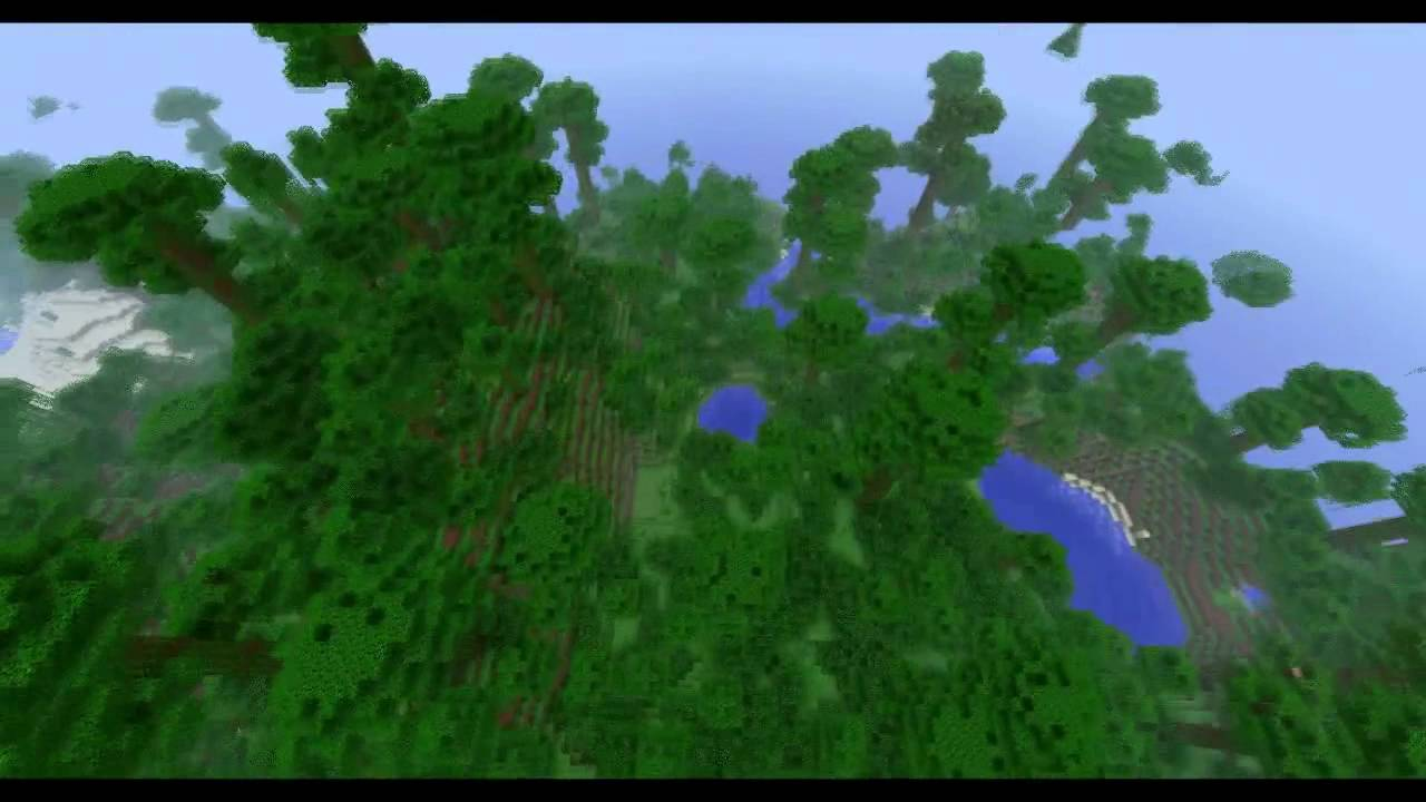 Minecraft BEST Jungle Biome Seed YouTube