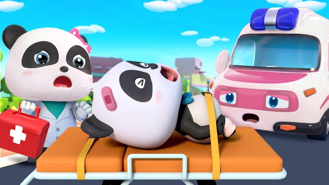 Ambulance Rescue Squad 🚑   Doctor Cartoon, Police Car   Nursery Rhymes   Kids Songs   BabyBus