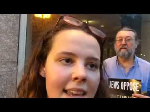 JVP-Chicago activists disrupt Stand with Israel fundraiser, 21 August 2014
