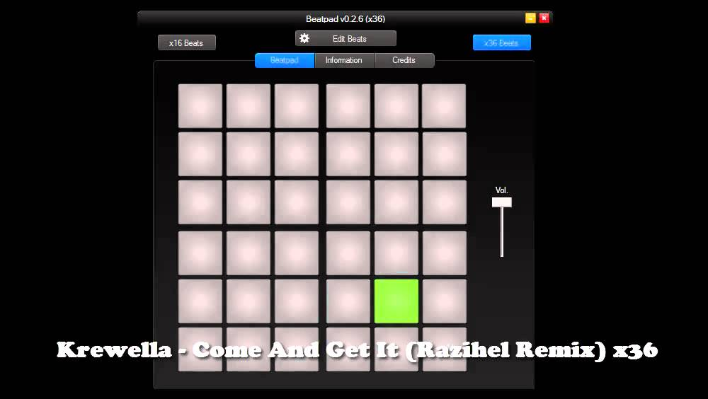 Krewella Come And Get It Razihel Remix 【Beatpad PC x36】Kr...
