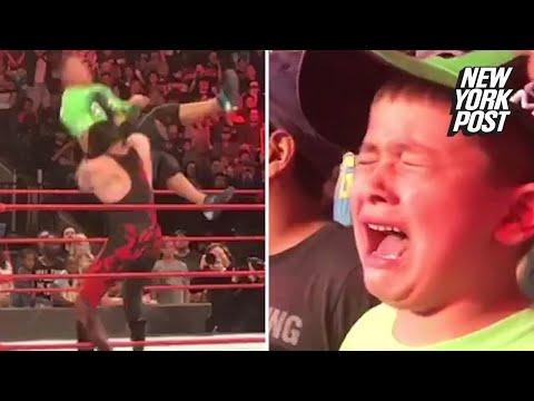 Superfan bursts into tears over John Cena's epic takedown | New York Post