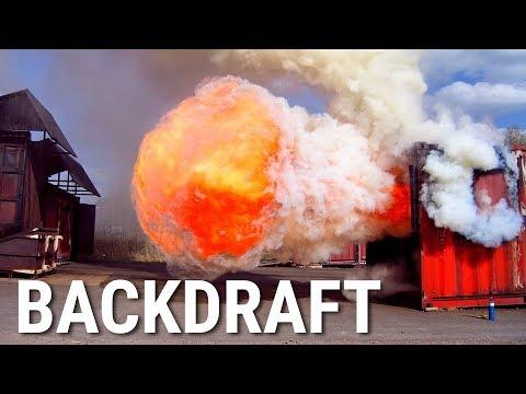 Backdraft - Plötzlich Feuer! Rauchgas-Explosion Erklärt   Phil's Physics