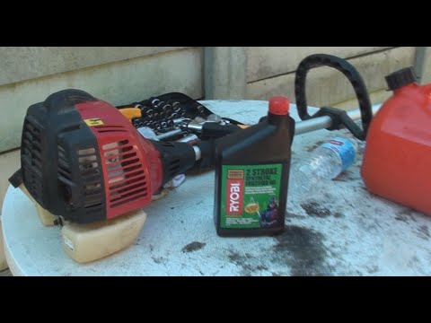 How To Mix Petrol Oil For 2 Stroke Engine Whipper Snipper