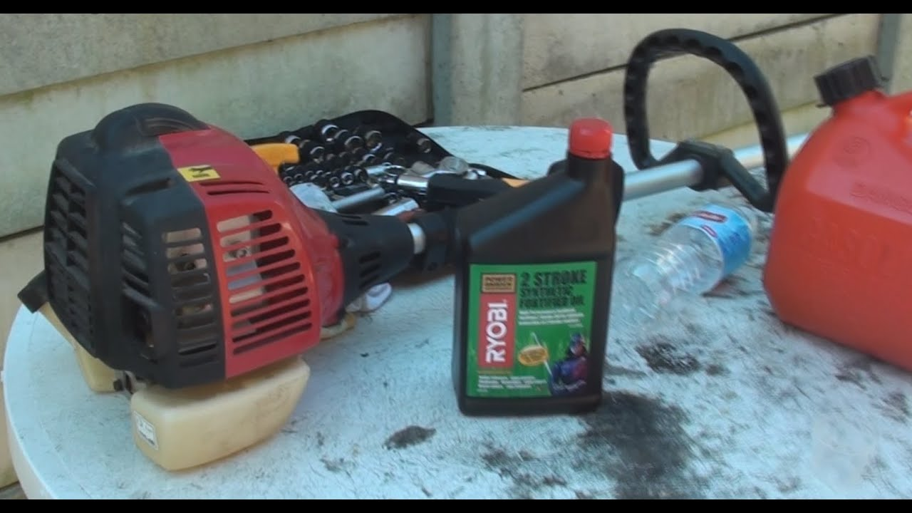 how to mix petrol oil for 2 stroke engine whipper snipper weed whacker youtube [ 1662 x 886 Pixel ]