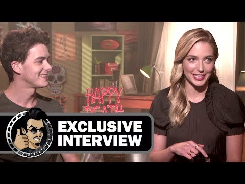 Israel Broussard & Jessica Rothe HAPPY DEATH DAY  JoBlo.com Exclusive