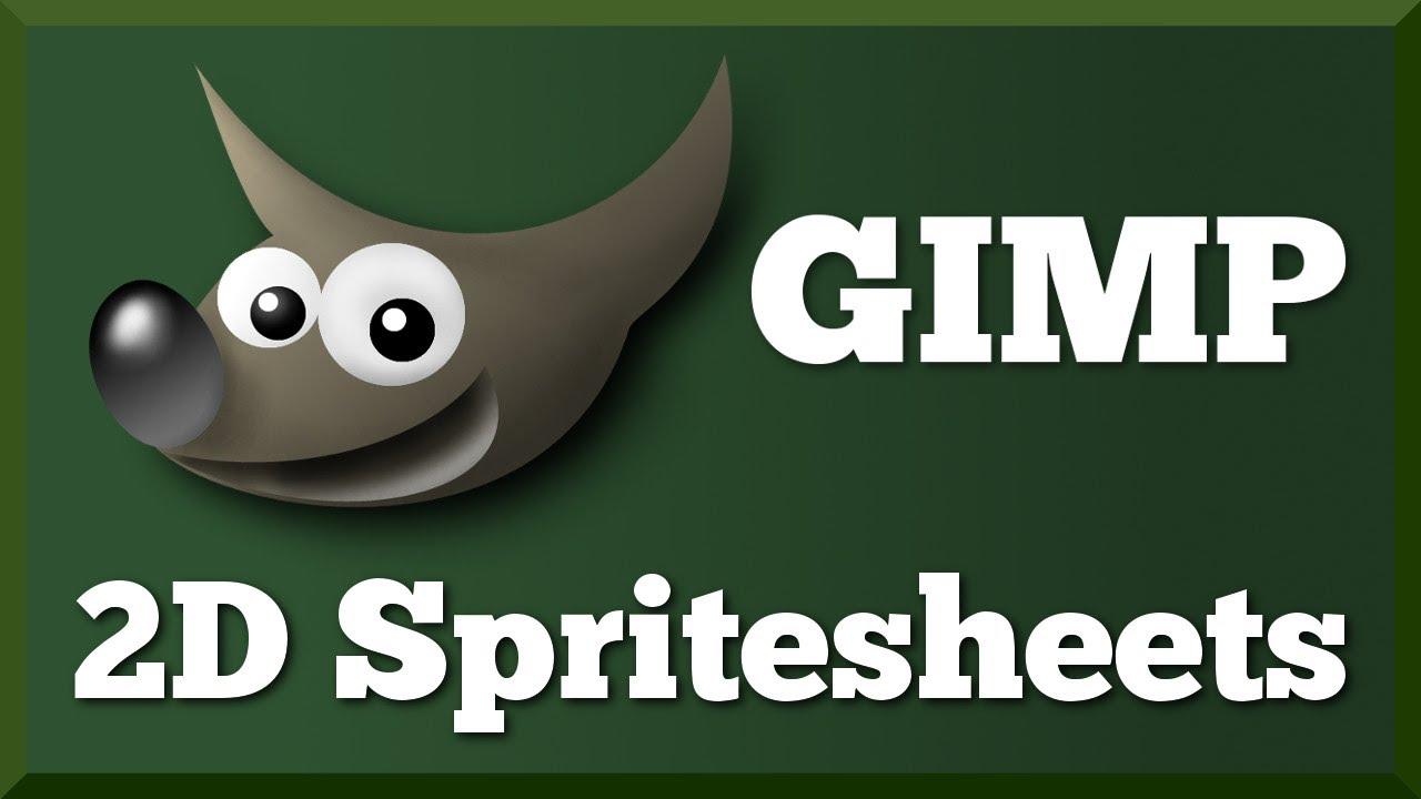 Basic GIMP Setup for 2D Pixel Art Spritesheets