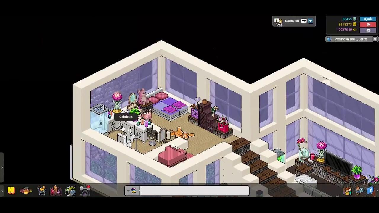 Casas Habblet ~ Habblet Construç u00e3o Rel u00e2mpago Construindo um Apartamento #03 YouTube