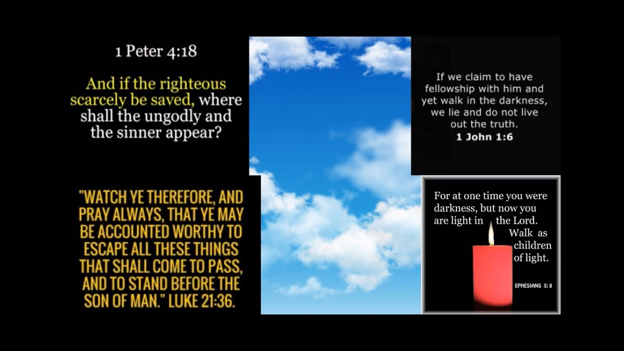 How To Be READY for Jesus and RAPTURE - Or the WORST REBUKE of ░A░L░L░!