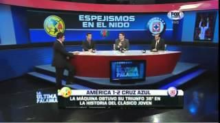 UltimaPalabra, America 1-2 Cruz Azul, J14, C14, Estadio Azteca, 05Abril2014