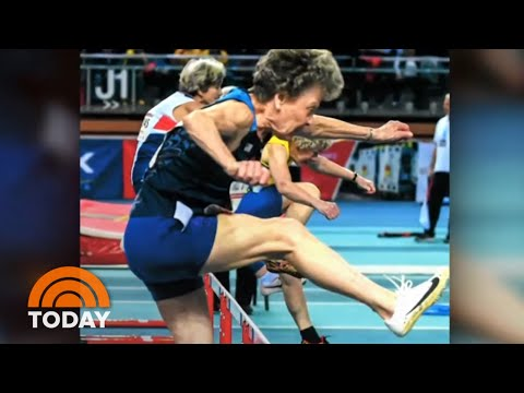 The Morning Rush - At 65 she took up pole vaulting. At 85 she is breaking records!