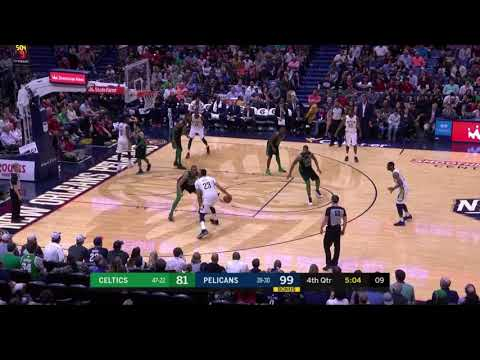 Anthony Davis puts Al Horford on skates with the ridiculous crossover