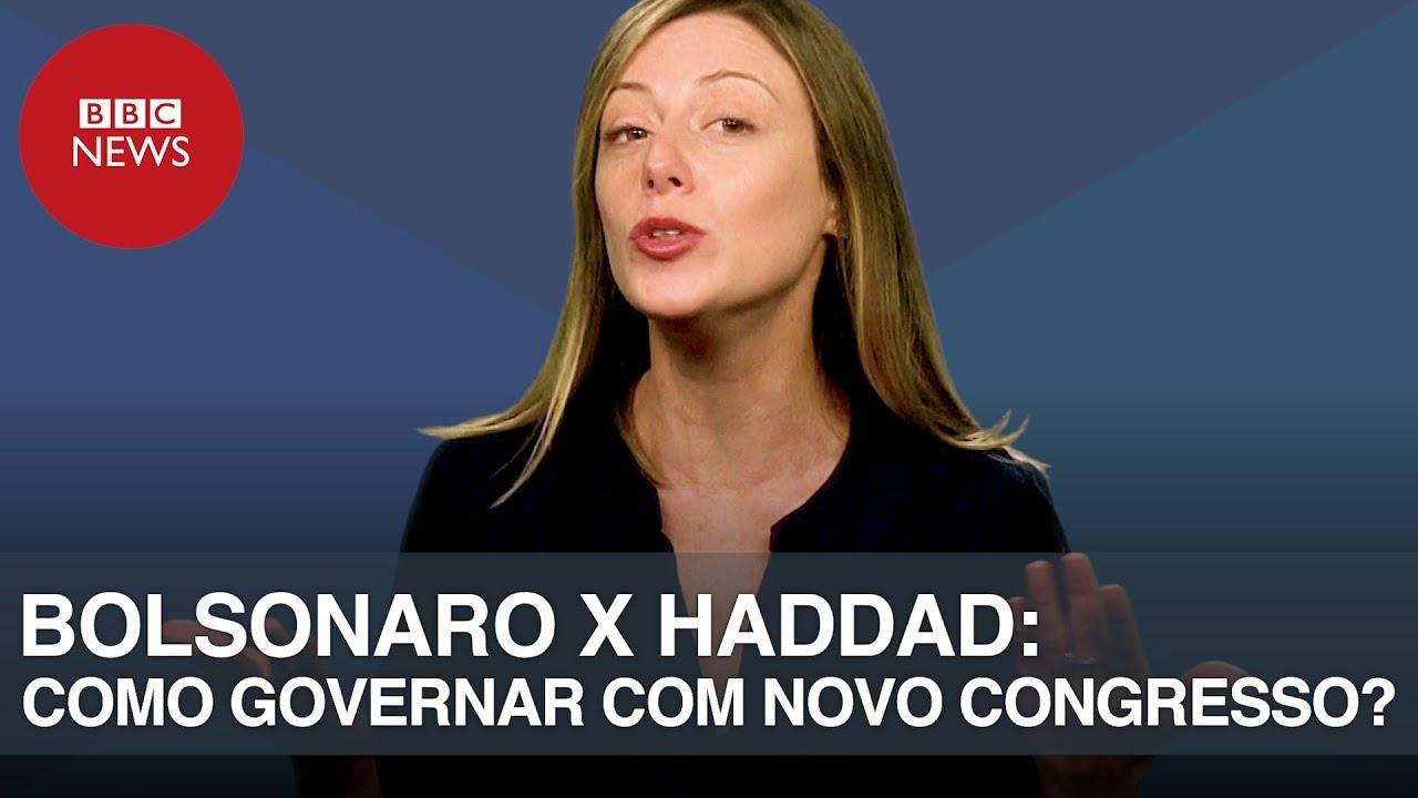 BOLSONARO x HADDAD: As possíveis estratégias do novo presidente para governar sem maioria?