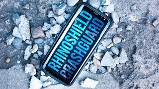 RhinoShield CrashGuard Bumper for Samsung S8/S8+ - Review - The toughest Samsung bumper case?