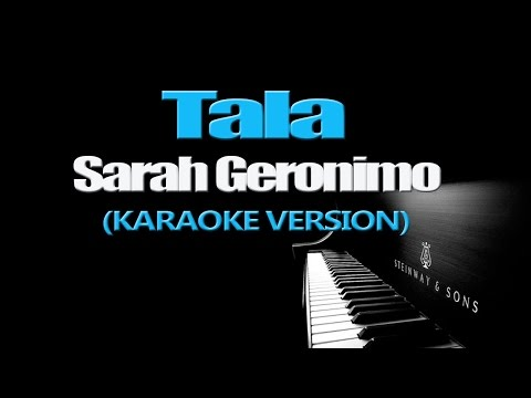 TALA - Sarah Geronimo (KARAOKE VERSION)