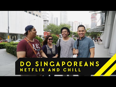 Do Singaporeans Netflix And Chill? | Word On The Street