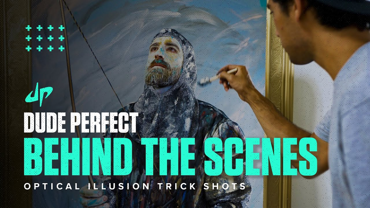 Download Optical Illusion Trick Shots (Behind The Scenes)
