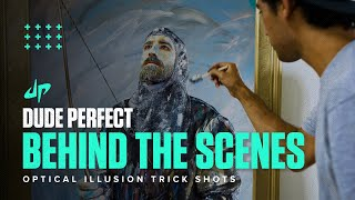 Optical Illusion Trick Shots (Behind The Scenes)