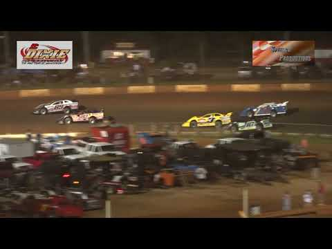 Dixie Speedway Crate Late Model Heats and Feature 8/24/19